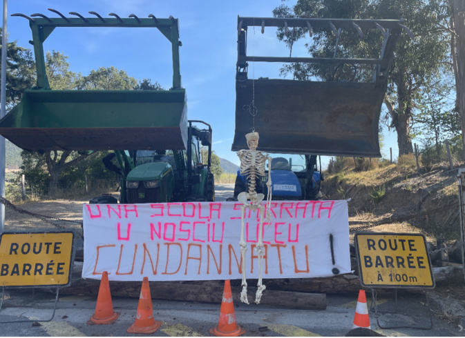 Le blocage du premier jour de grève