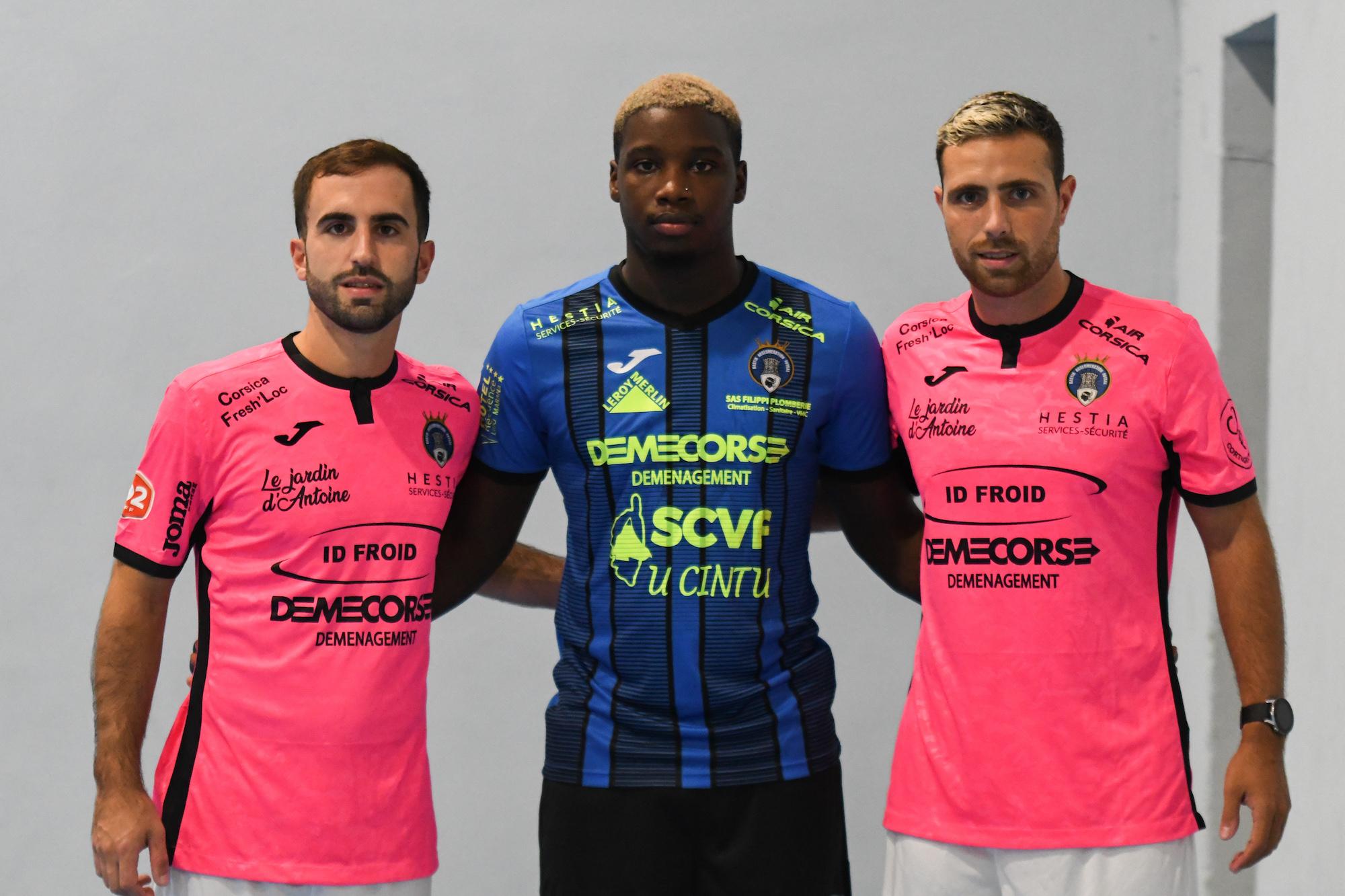 Les trois nouvelles recrues étrangères du club.