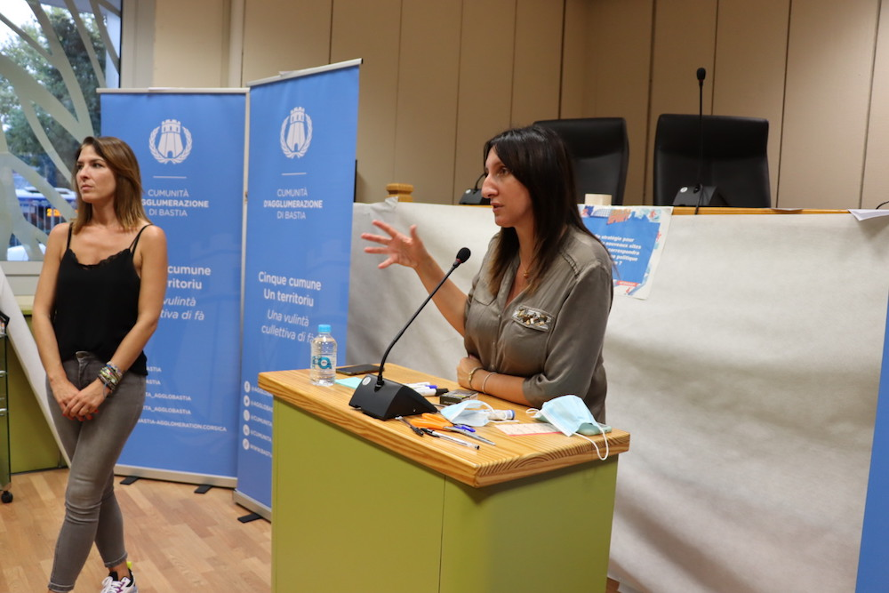 Karène Novella, directrice du développement et de la cohésion sociale.