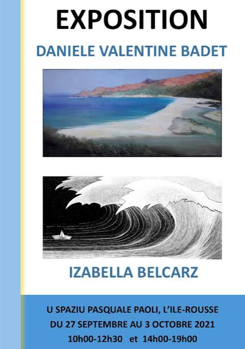 Expo à Lisula : Izabella Belcartz et Daniele Valentine Badet au Spaziu
