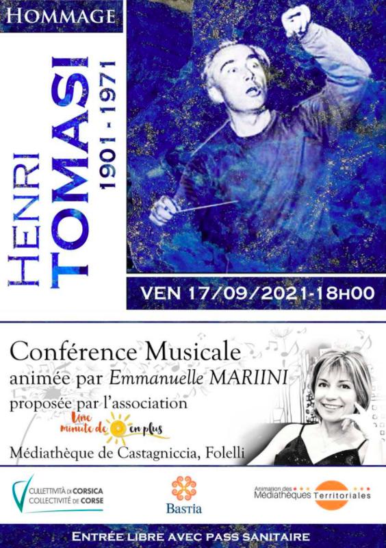 Folelli : Conférence musicale sur Henri Tomasi