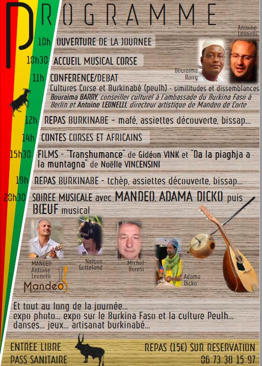 Soveria : une journée pour célébrer l'amitié entre la Corse et le Burkina Faso ce 25 septembre