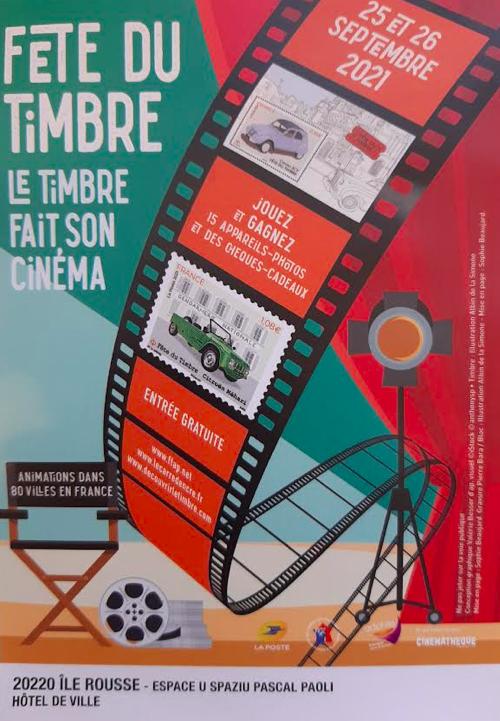Lisula : La Fête du timbre fait son cinéma les 25 et 26 septembre