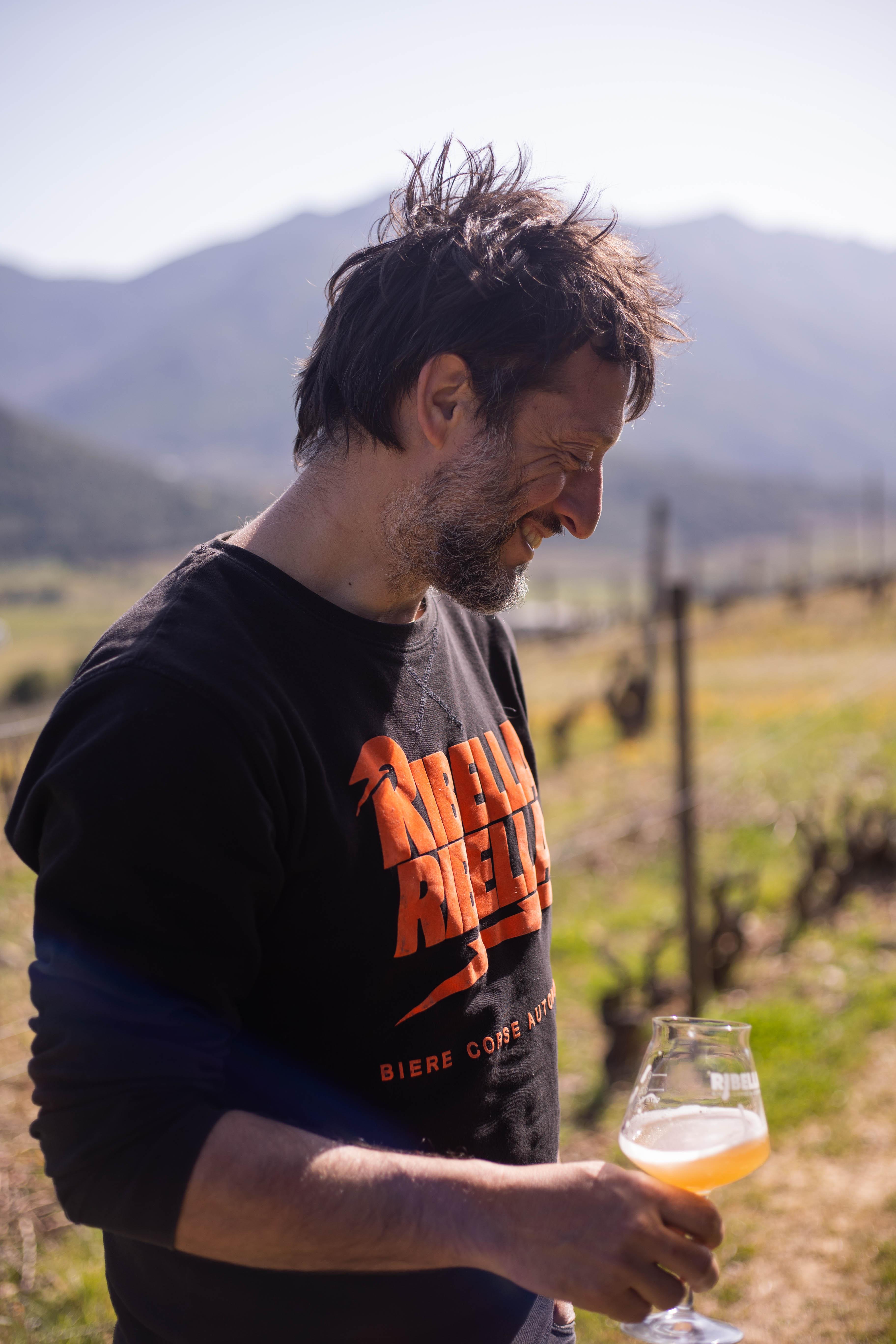 Pierre-François Maestracci, organisateur du festival Ribellazione.