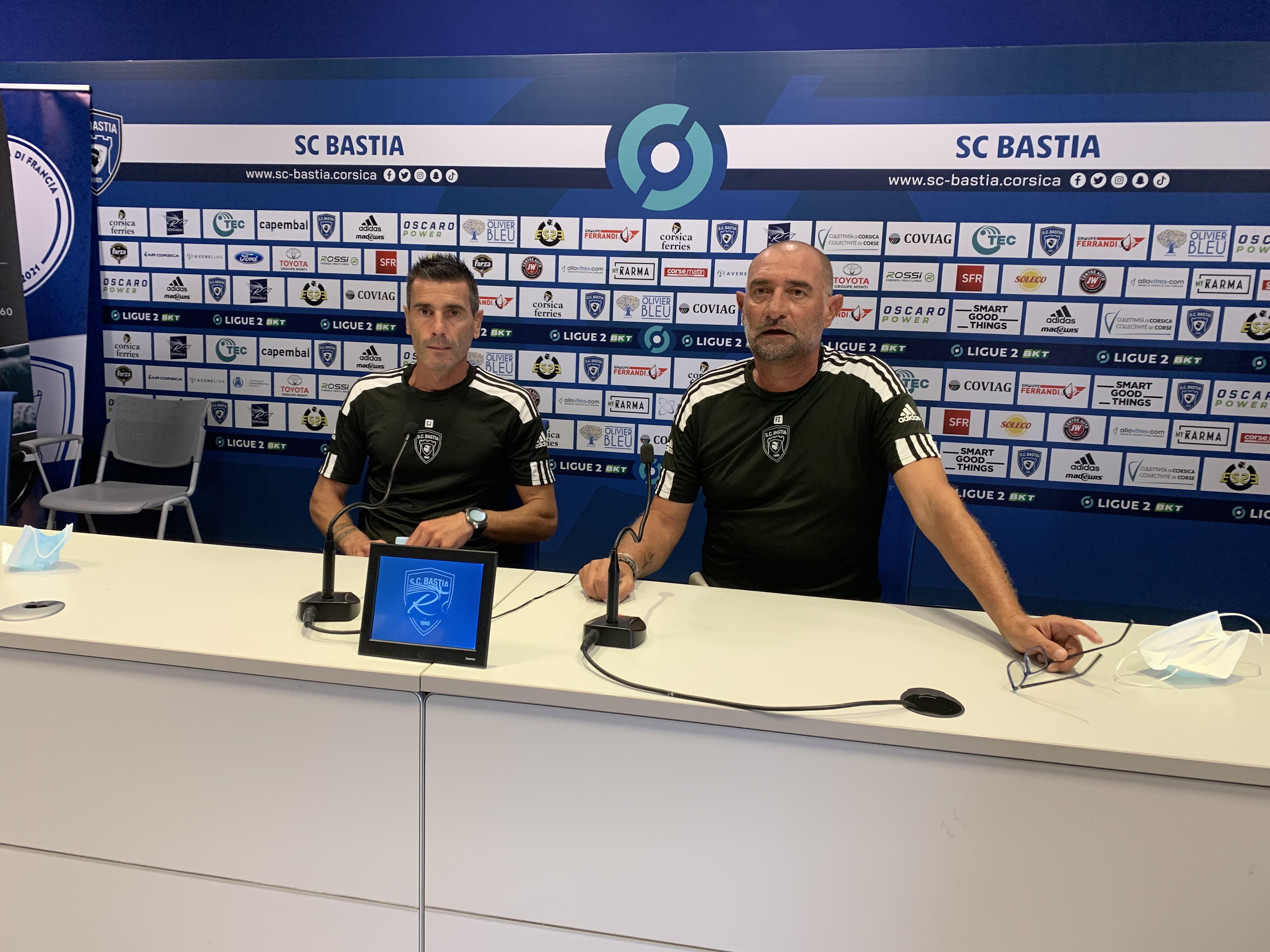 C. Jeunechamp et F. Zago à la tête du SCB pour le derby face à l'ACA