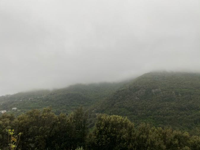 Pollution atmosphérique : poussières désertiques sur la Corse