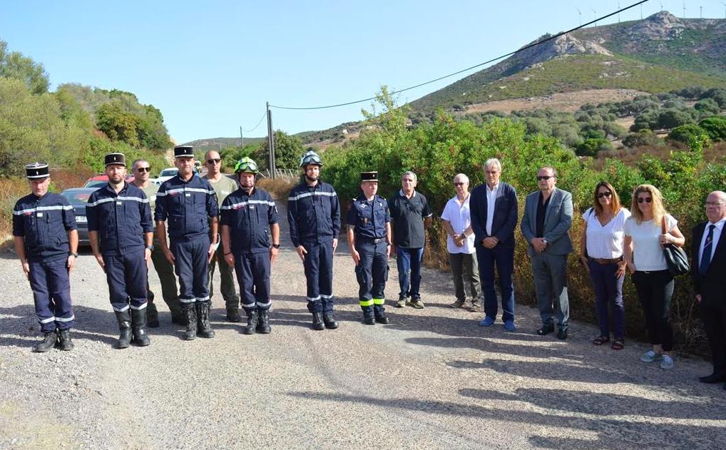 Calenzana : l'émouvant hommage au pilote Philippe Gallet