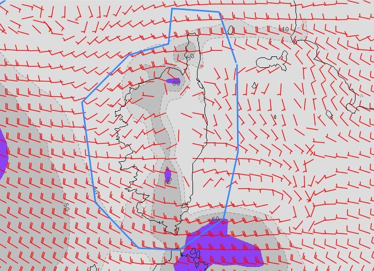 Le vent d'ouest soufflera assez fort notamment mercredi