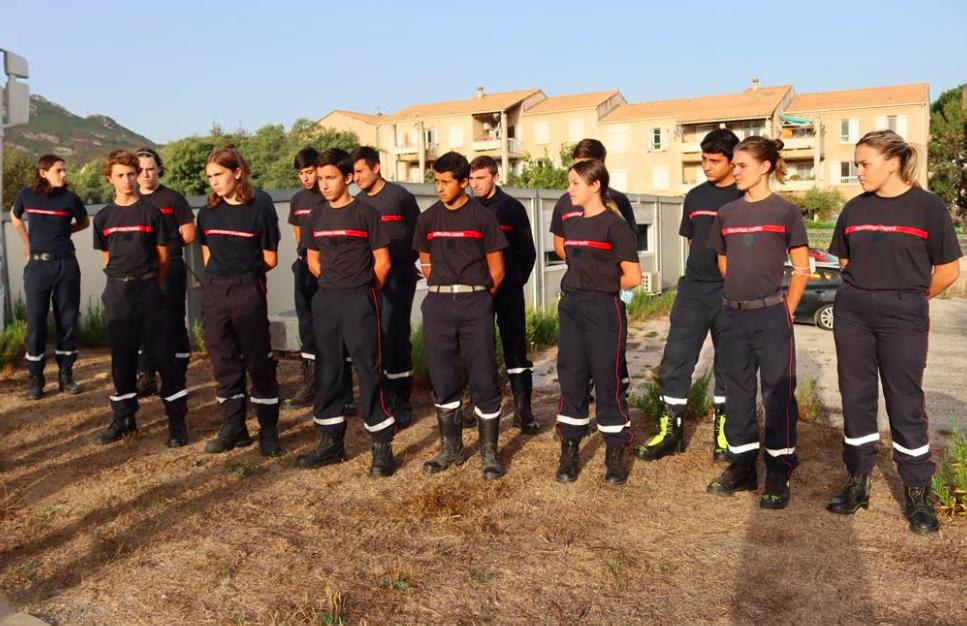 Les jeunes sapeurs-pompiers de Balagne ont fait leur rentrée