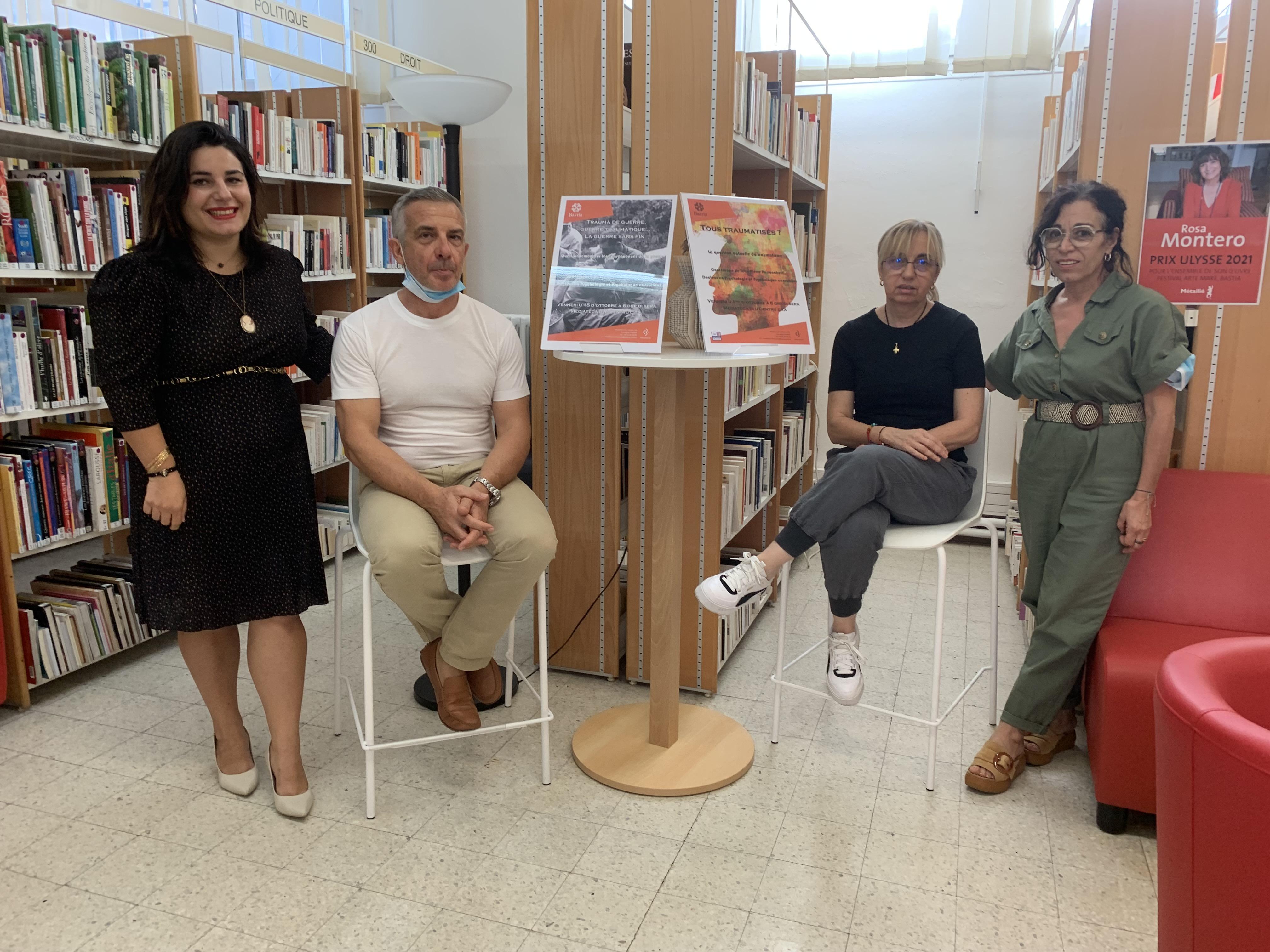 Jean-Pierre Parrocchetti et l'équipe de la bibilothèque centrale vous attendent ce vendredi pour la 1ère d'un cycle de 3 conférences.