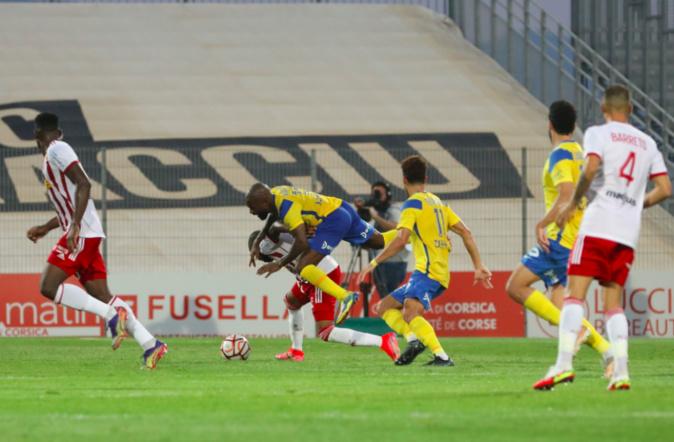 Le match di 11 septembre dernier à Ajaccio - Photo Michel Luccioni