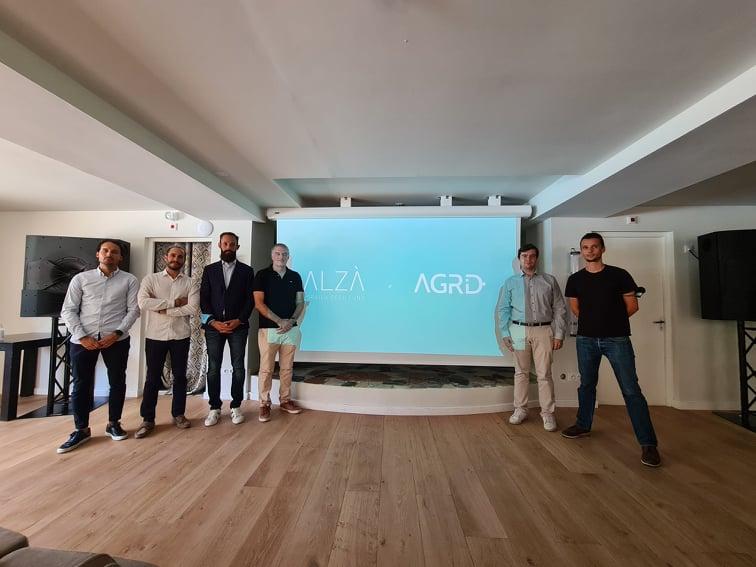 Les fondateurs d'Agrid ont présenté leur entreprise aux côtés des équipes de Femu Quì ce jeudi 30 septembre. Crédits Photo : Pierre-Manuel Pescetti