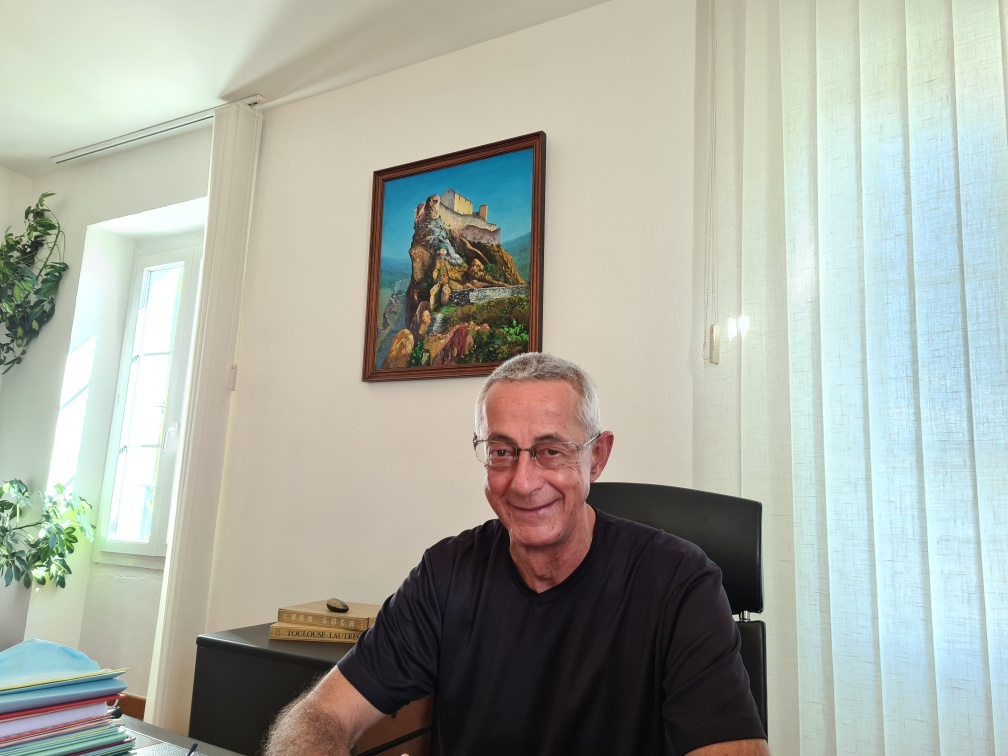 Xavier Poli, maire de Corte. Crédits Photo : Pierre-Manuel Pescetti