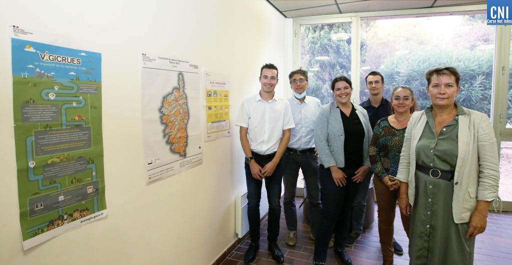 Le dispositif vigicrues de la Gravona présenté à Porticcio