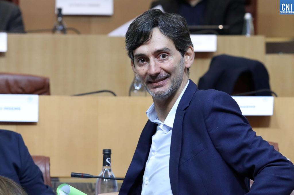 Julien Paolini, président de l'AUE. Photo Michel Luccioni.