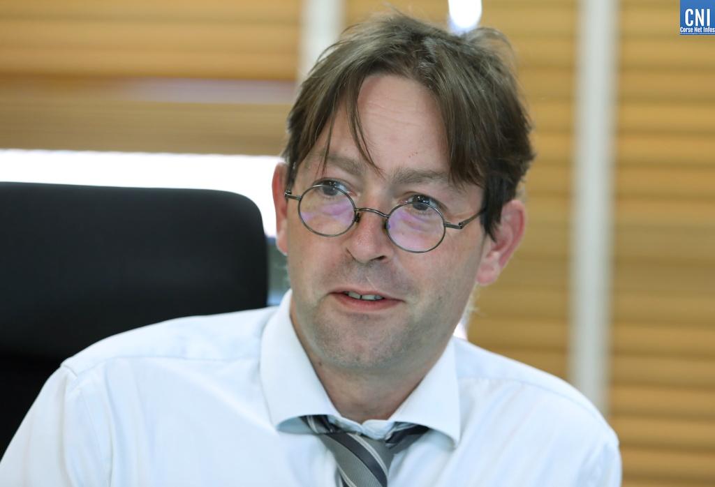Nicolas Septe, procureur de la République d'Ajaccio (Photo Michel Luccioni)