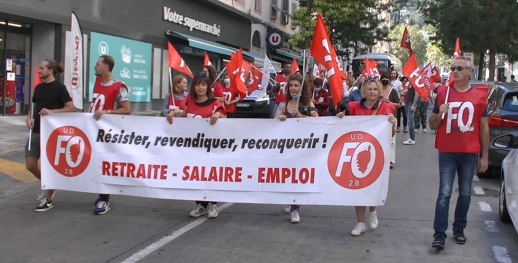 """""""Situation de plus en plus dégradée pour les retraités"""" dénonce l'UD FO de Haute-Corse"""