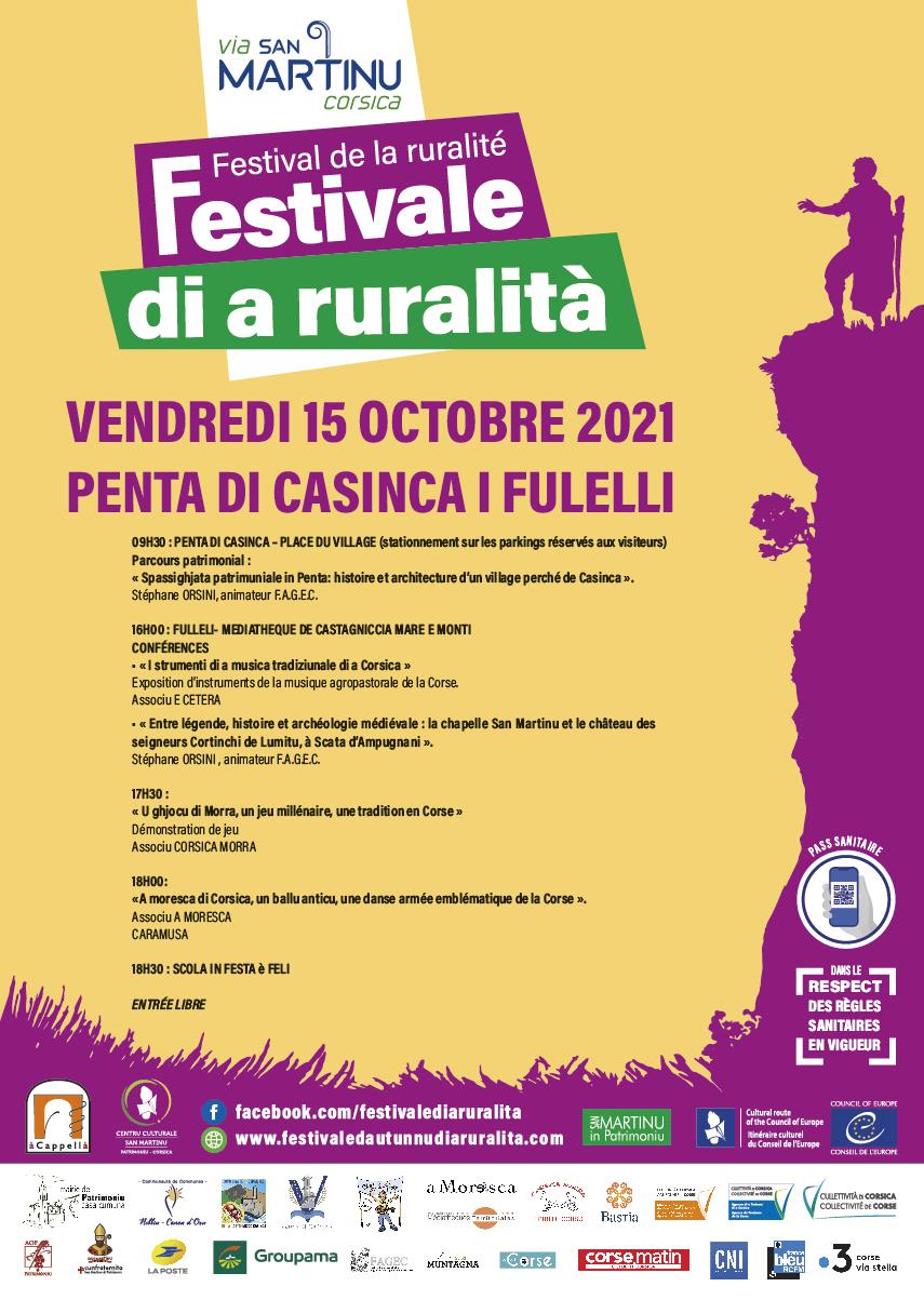 U festivale di a ruralita prend ses marques à l'année et ouvre de nouvelles étapes