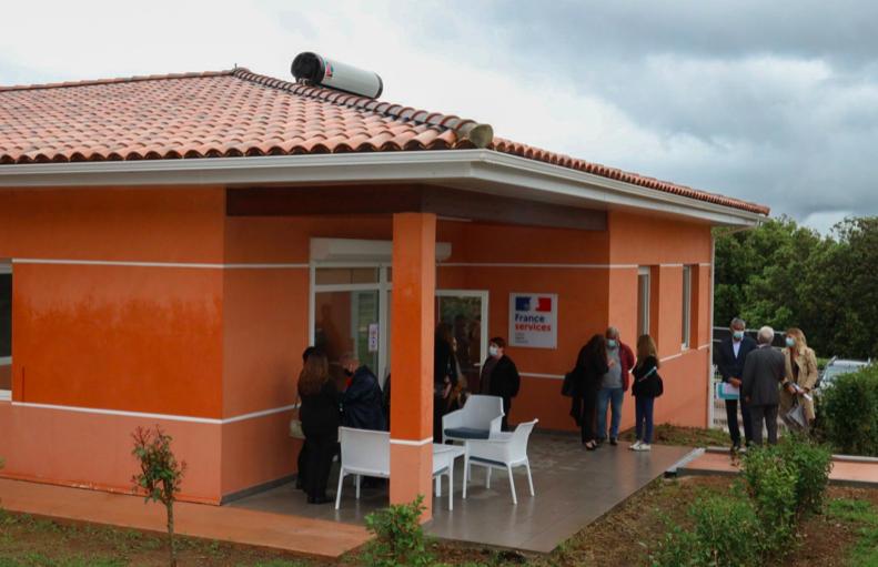 La maison France Service de Alata. Crédit photo préfecture de Corse-du-Sud
