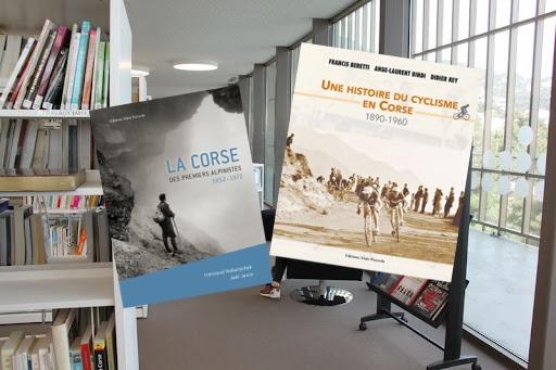 Alpinisme et cyclisme à la médiathèque B.Duriani à Bastia