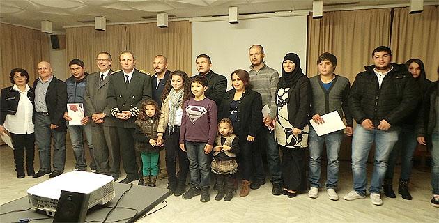 Bastia : 11 ressortissants étrangers accueillis dans la citoyenneté française