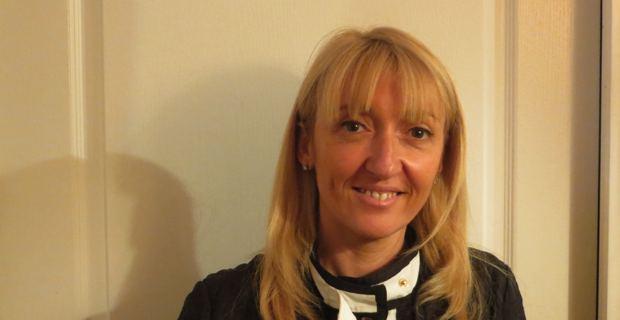 Emmanuelle De Gentili, 1ère secrétaire de la fédération socialiste de Haute-Corse et conseillère municipale de Bastia.