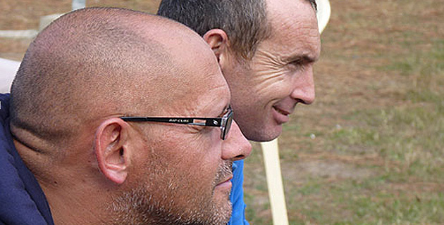 Sam Lacombe et Laurent Massabeau : Deux des techniciens bastiais
