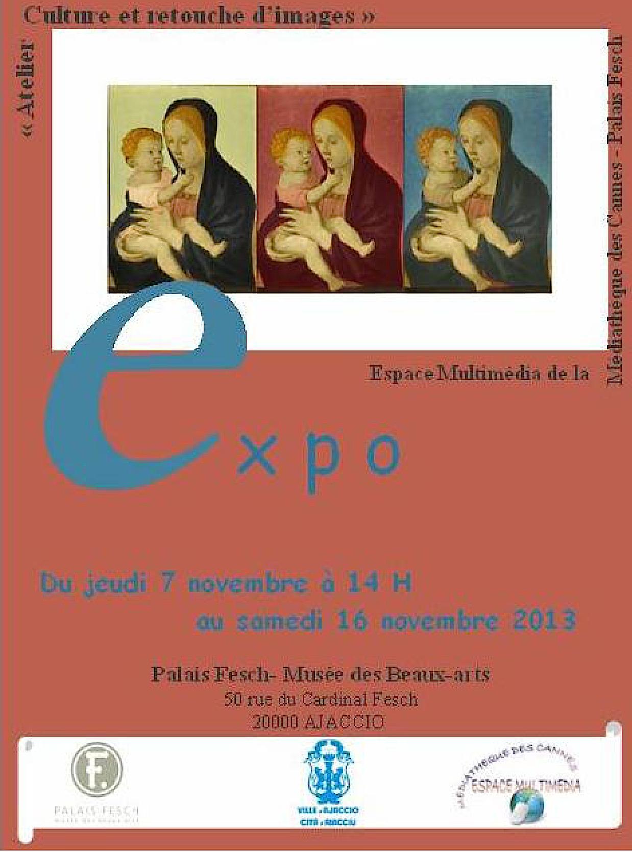 Musée Fesch: Expositionsde l'atelier histoire des arts et retouche d'images