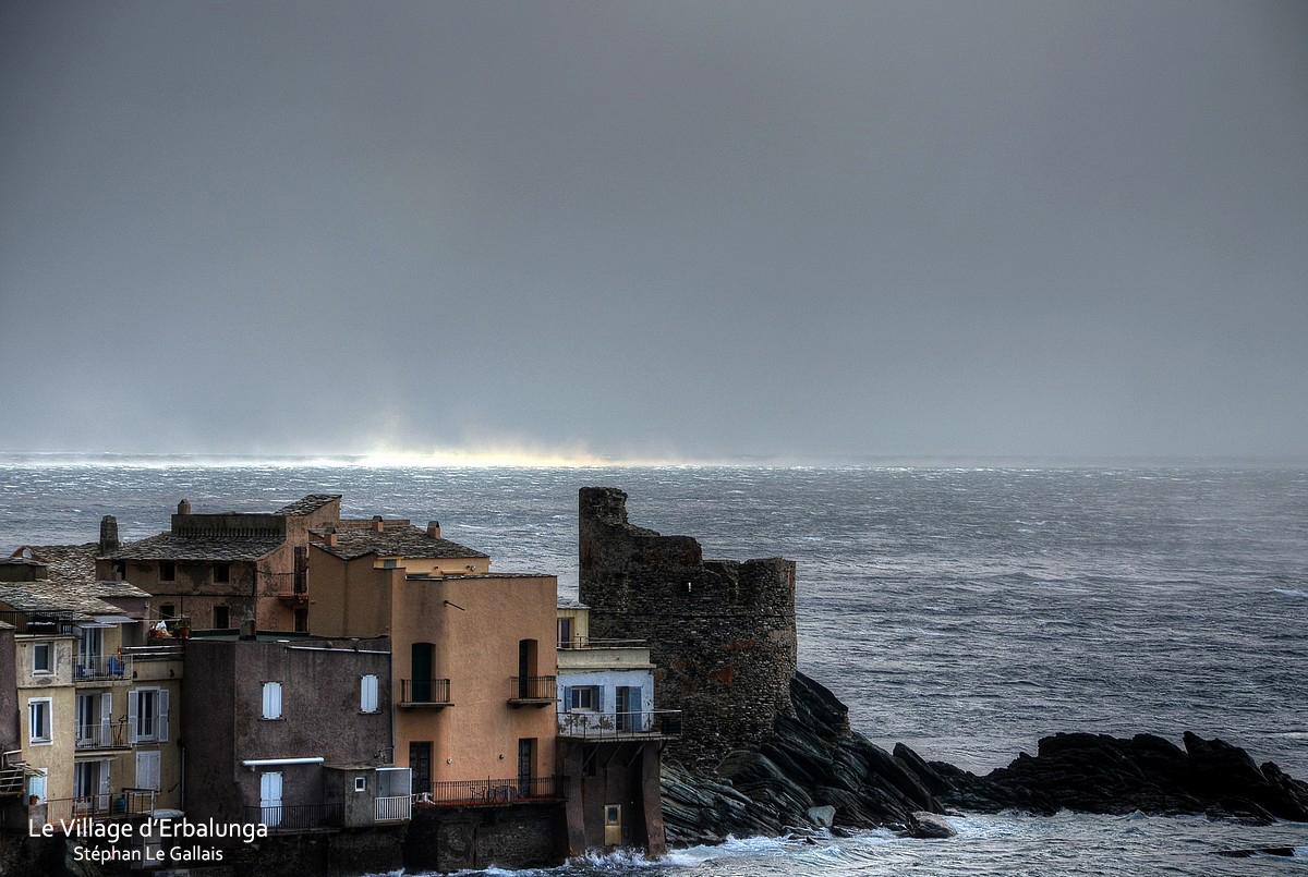 Tempête sur le Cap Corse : La vidéo