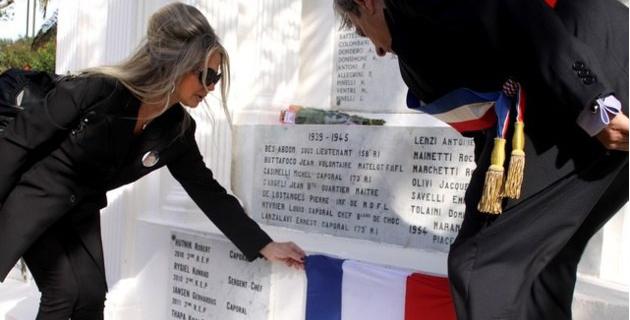 Calvi : Le nom de l'Adjudant Vermozeele, tombé au Mali, inscrit au monument aux morts