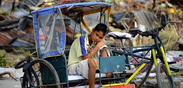 La population philippine a été très durement touchée par le passage du typhon Haiyan sur l'archipel. (DR)