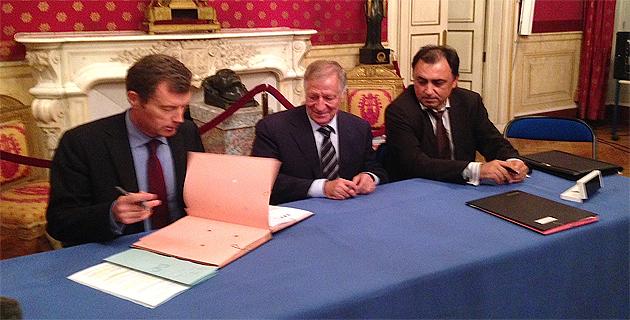 Protocole tripartite Mairie d'Ajaccio-Etat-GDF-Suez : Une signature historique