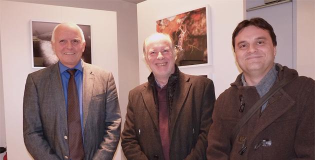 Stéphan Le Gallais entre Yvon Alain (à gauche) et Emmanuel Grenat