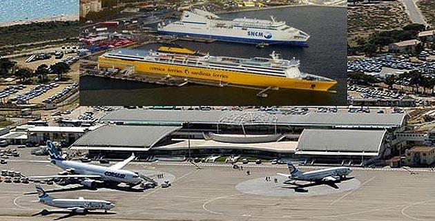 Corse : Petite progression des trafics passagers entre Mai et Septembre
