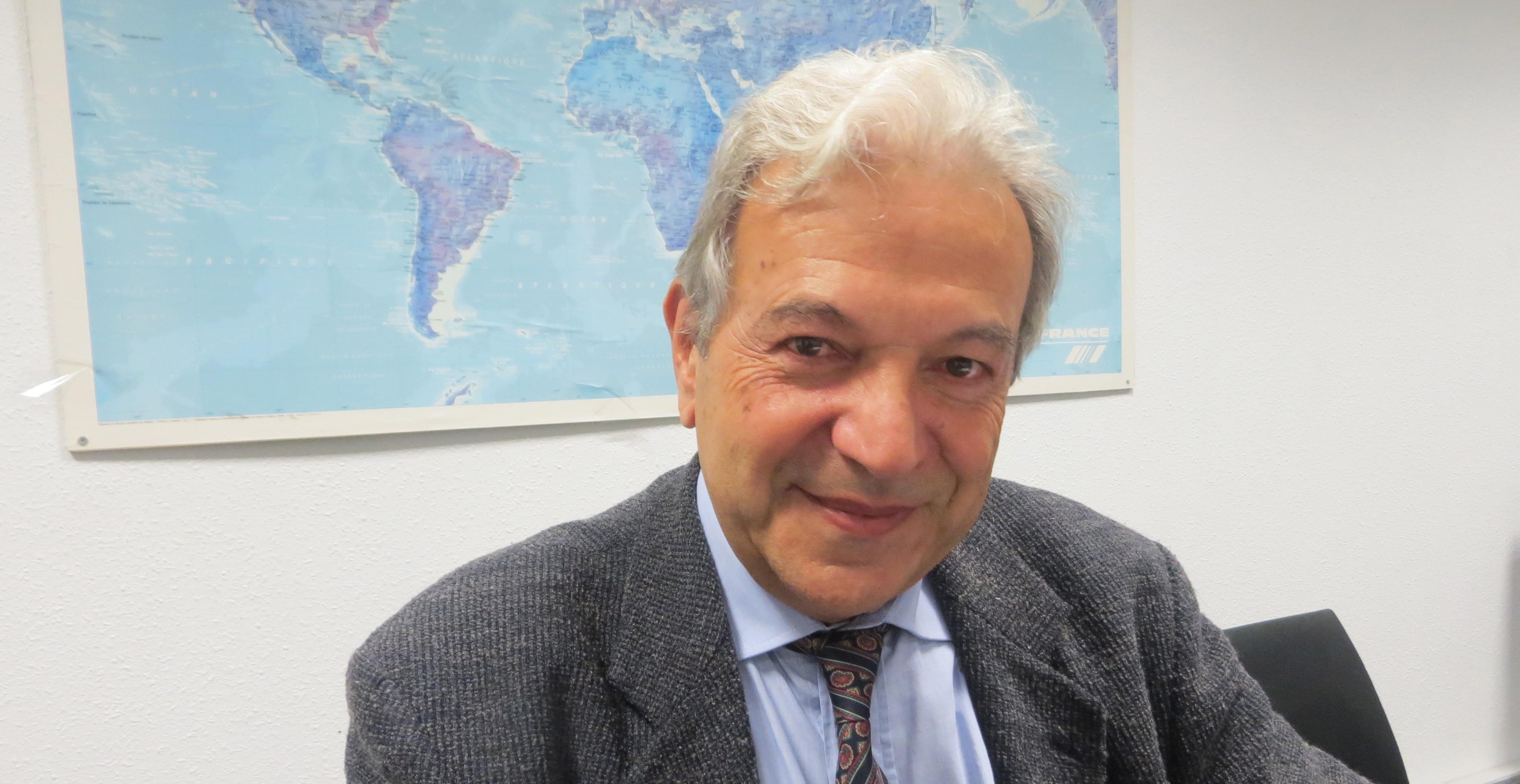 Francis Beretti, président de la Société des sciences historiques et naturelles de la Corse.