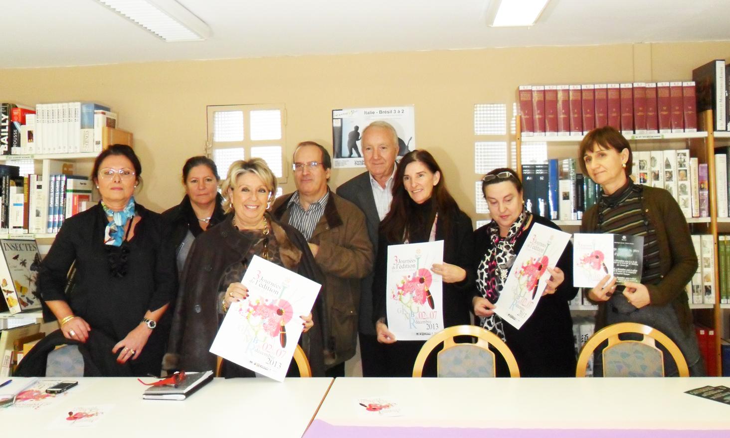 3ème Scontri di u Libru : La traduction et les objets de lecture
