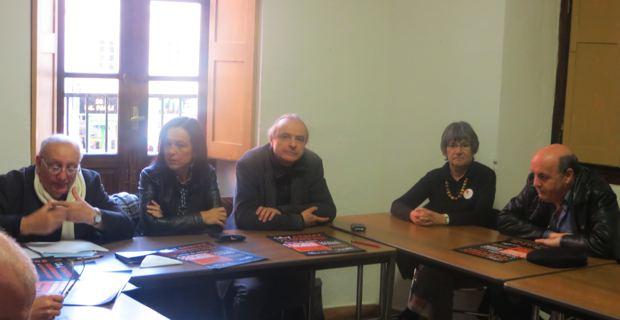 Les membres du Collectif autour d'André Pacou