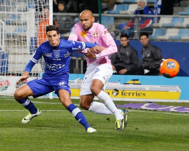 Le Sporting a peiné avant de s'imposer face à Evian-Thonon