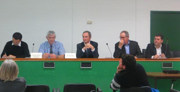 Assemblée générale de la Chambre d'agriculture de Haute-Corse.