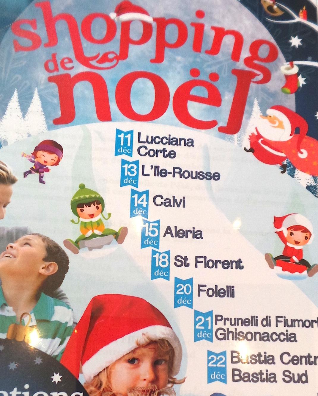 La Haute-Corse se met à l'heure du shopping de Noël