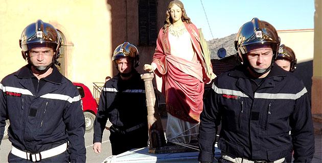 La Sainte Barbe fêtée en grande pompe à Belgodère