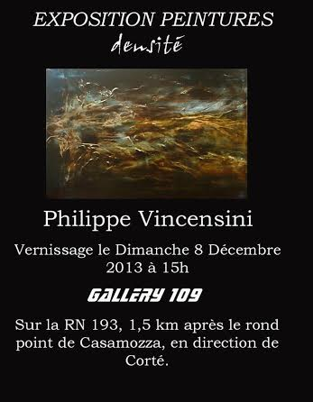 Casamozza : Philippe Vincensini expose à la Gallery 109