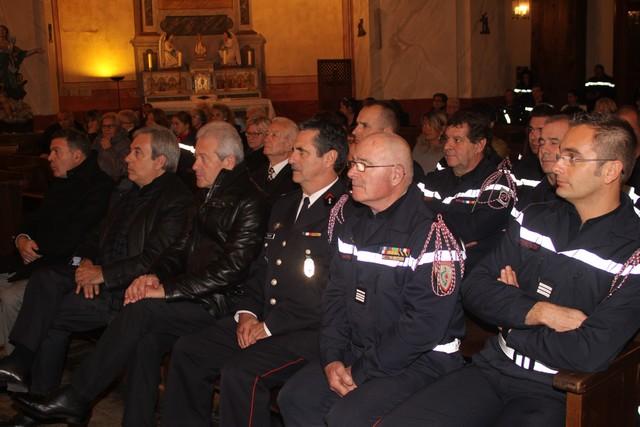 Les pompiers de Calvi ont vénéré leur Sainte patronne