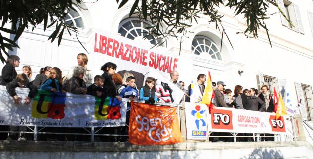 Les enseignants mobilisés à Ajaccio