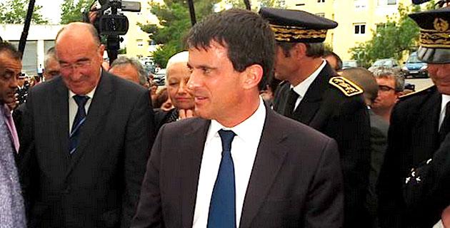 Manuel Valls à Ajaccio et Bastia