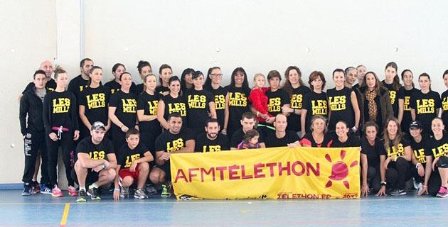 L'infatigable Roberto a orchestré le marathon de Fitness au profit du Téléthon. (Photo SG)