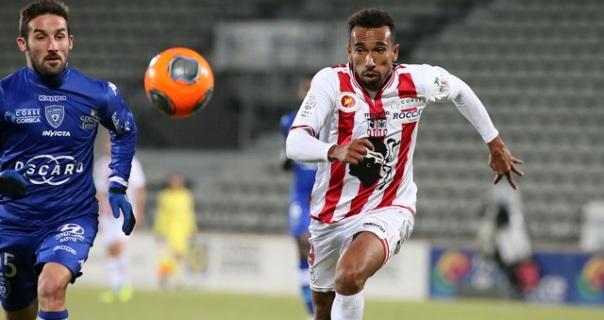 Buteur face au SCB, Eduardo retrouve son football (Ritrattu : G. Pierlovisi AC-Ajaccio.com)