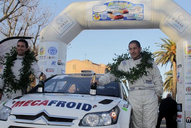 "Au Rallye de Balagne Pascal Trojani est ""Intouchable"""