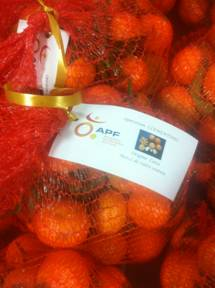 Ajaccio : Ventes de Clémentines au profit de l'APF