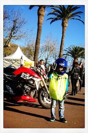 Un futur motard gagnant !
